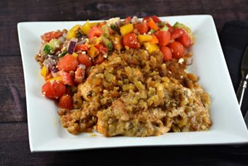 Slow Cooker Cheesy Stuffing Chicken
