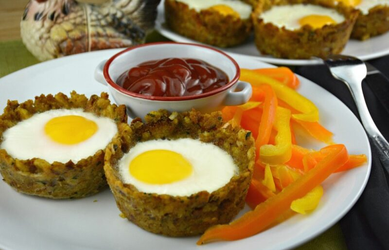 Easy Stuffing Egg Muffins
