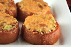 Tomato Tuna or Crab Melts