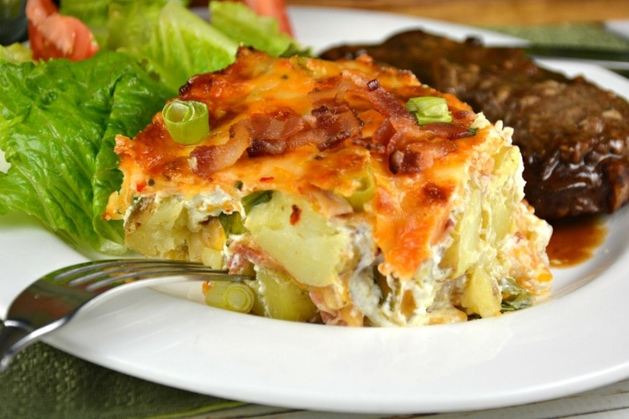 Creamy Little Potato Bake
