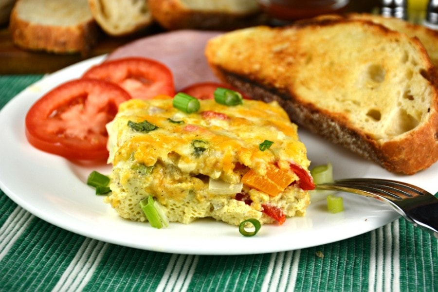 Cheesy Oven Baked Western