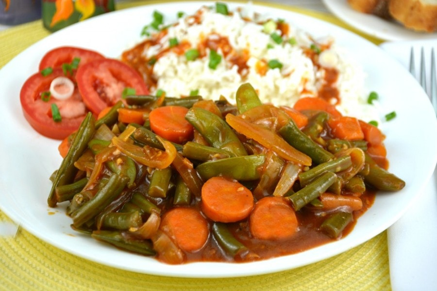 Fabulous Green Bean Stir-Fry