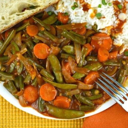 Fabulous Green Bean Stir-Fry