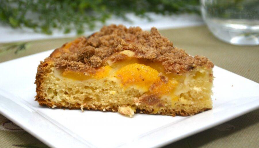 Easy Peach Coffee Cake