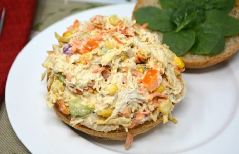 Slow Cooker Chicken Salad On Anything