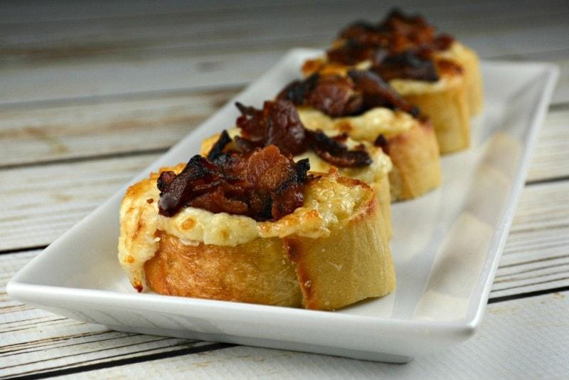 Crispy Parmesan Bacon Bites