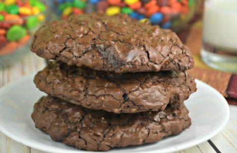 Double Chocolaty Espresso Pecan Cookies