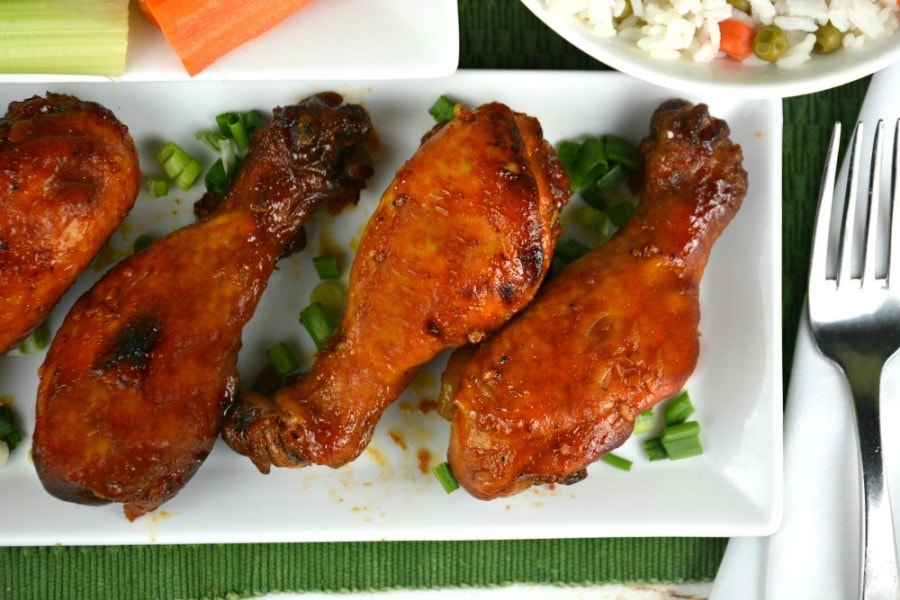 Slow Cooker Honey Barbecue Drumsticks