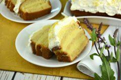 Easy Lemon Layered Pound Cake
