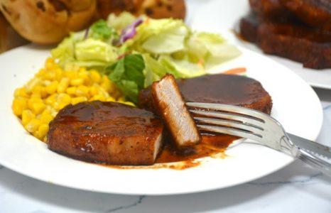 Sweet Glazed Pork Chops