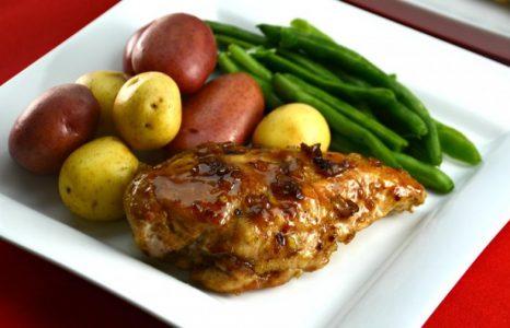 Island Glazed Chicken Breasts