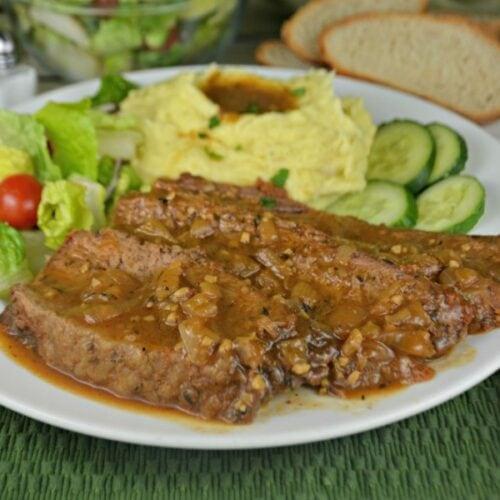 The Best Slow Cooker Beef Brisket