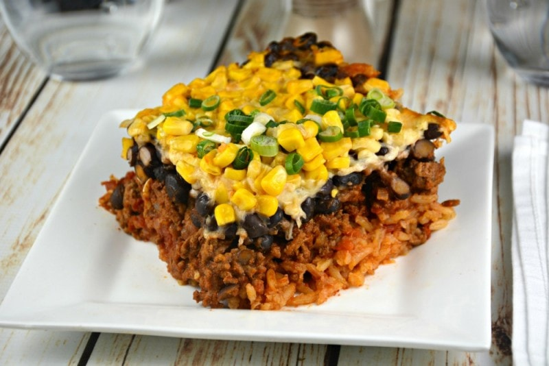 Supreme Layered Beef Casserole
