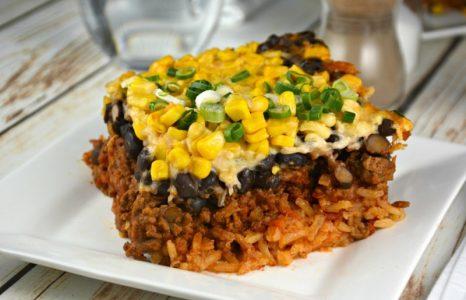 Supreme Layered Beef Casserole