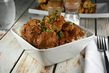 Slow Cooker Thai Chicken Thighs