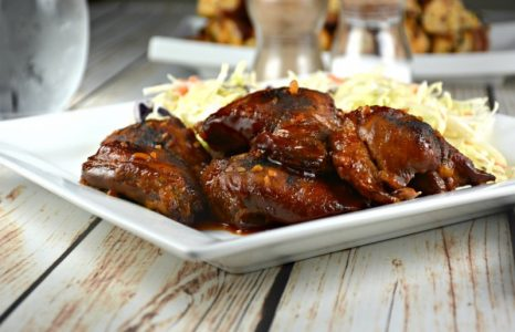 Sweet Slow Cooker Chicken Thighs