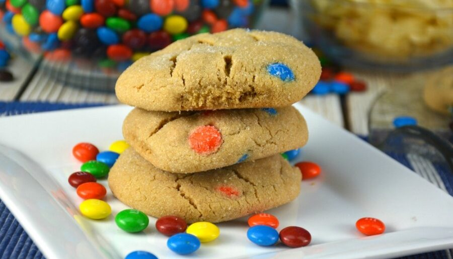 Perfect Peanut Butter M&M Cookies