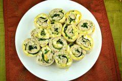 Tuna Egg Salad Roll Ups