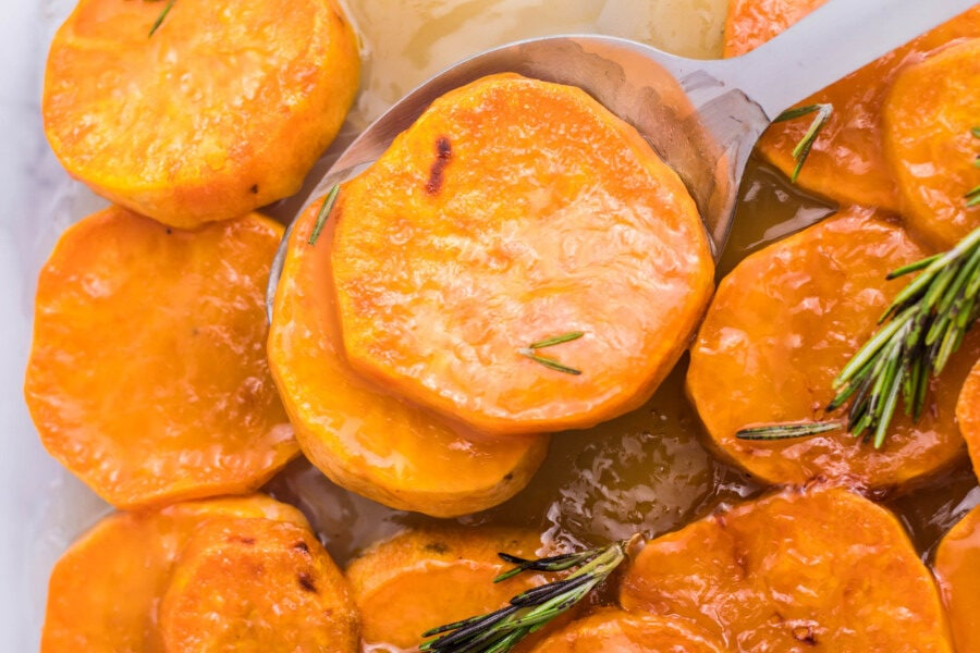 Candied sweet potatoes defines easy ham side dishes