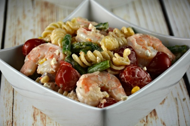 The Best Shrimp Pasta Salad Kitchen Divas