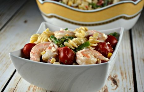 The Best Shrimp Pasta Salad