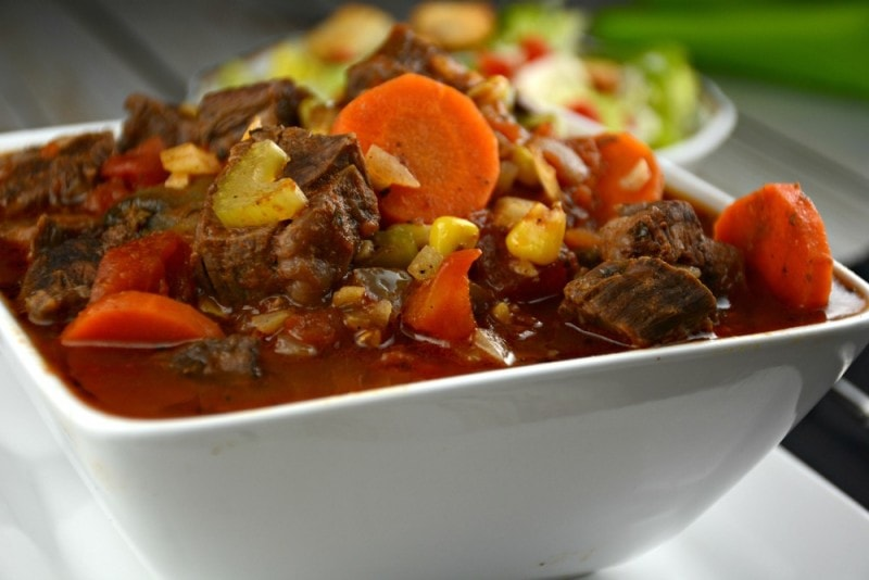 Slow Cooker Creole Steak Stew