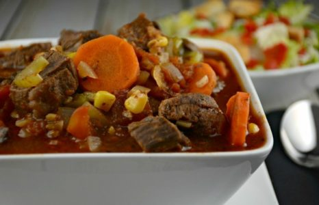 Slow Cooker Creole Steak Stew