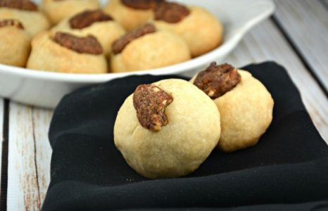 Turtle Stuffed Cookies