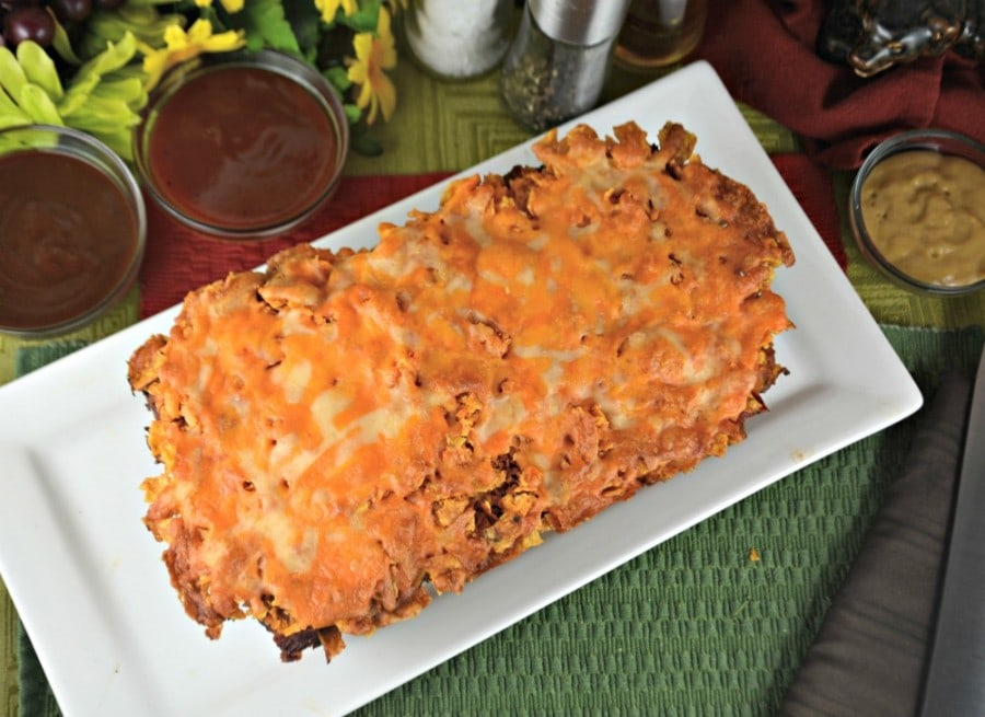 Cheesy Taco Meatloaf