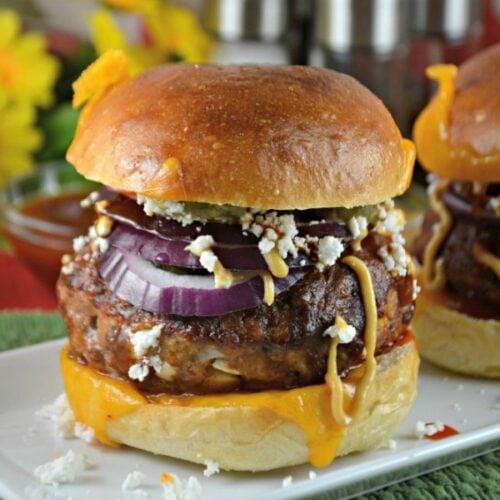 Baked Meatloaf Burgers