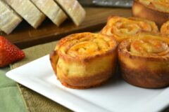 Easy Baked Ham and Cheese Pinwheels