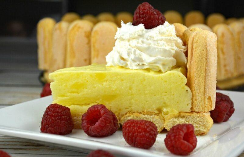 Ladyfinger Lemon Cake