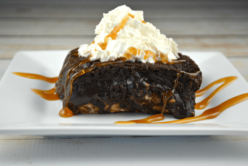 Caramel Peanut Butter Brownie