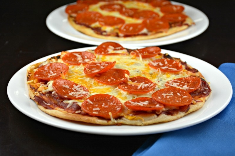 Simple Skillet Pizza