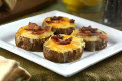 Cheesy Bacon Potato Bites
