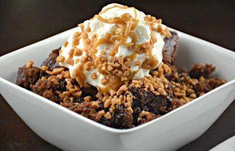 Simple Slow Cooker Fudgey Pudding Cake