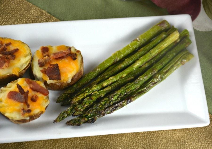Easy Broiled Asparagus Kitchen Divas