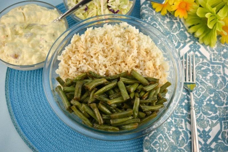 Easy Sweet Green Beans