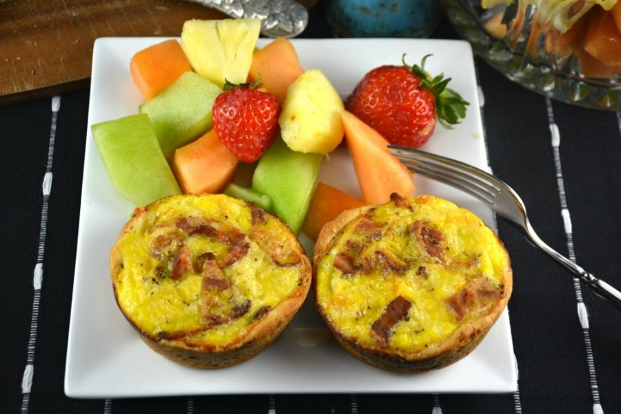 Easy Bacon and Egg Breakfast Cups