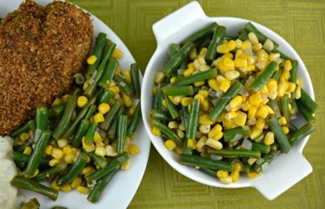 Quick Sweet and Sour Green Beans