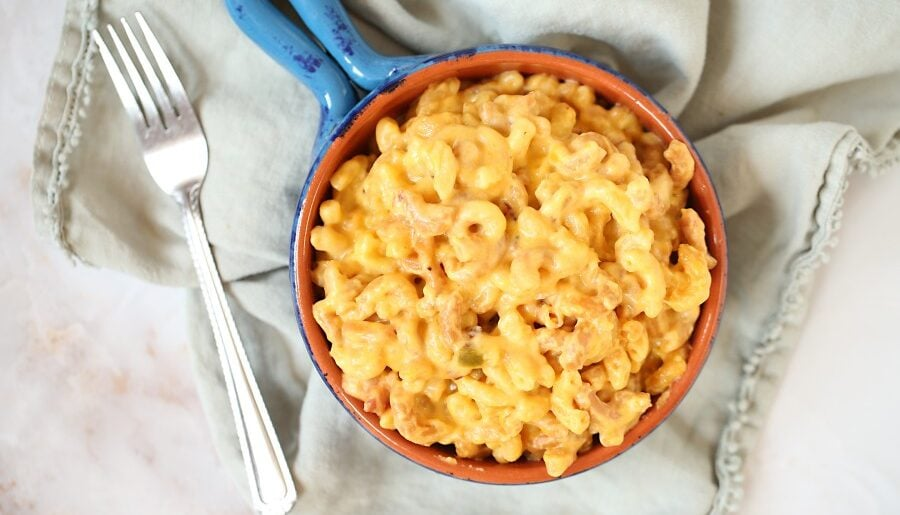 Slow Cooker Bacon, Macaroni and Cheese