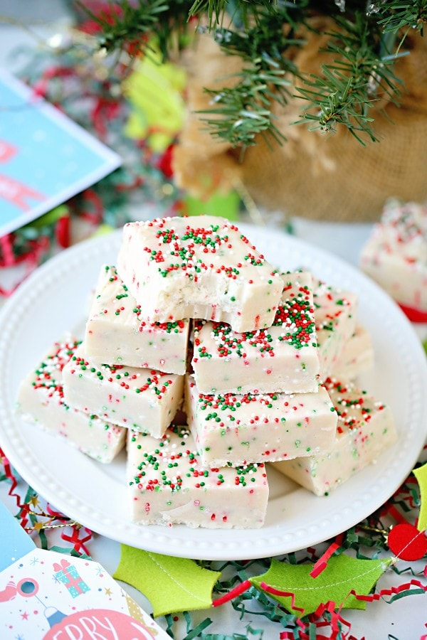 Sugar Cookie Fudge