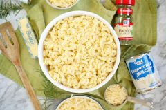 Rosemary White Cheddar Macaroni and Cheese