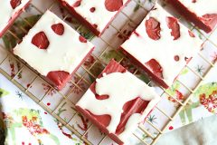 Easy Red Velvet Fudge