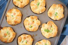 Easy Pot Pie Muffins