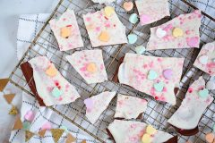 Easy Layered Candy Bark