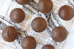 Nutella Stuffed Chocolate Strawberry Buttercream Cupcakes