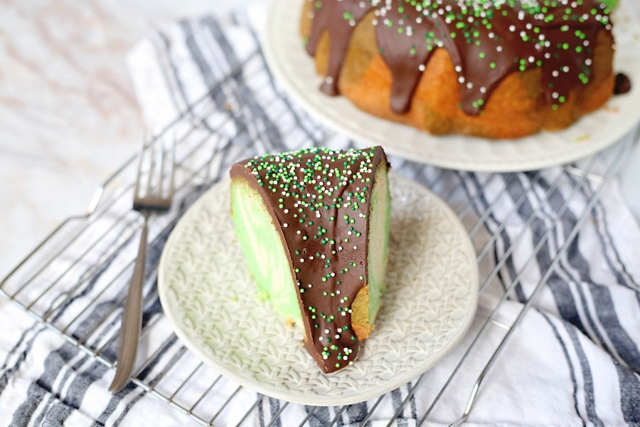 vanilla bundt cake glaze