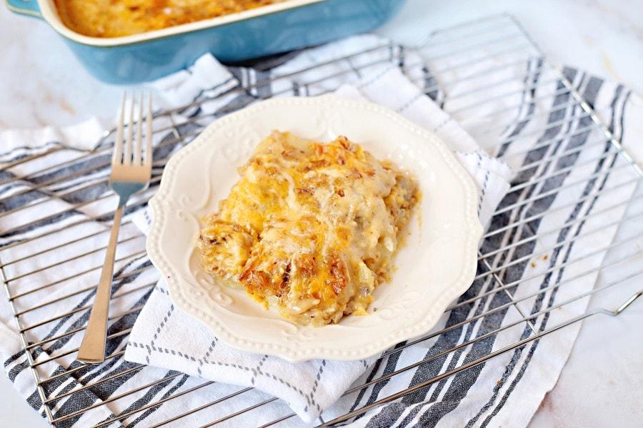 Souper Meat and Potato Bake