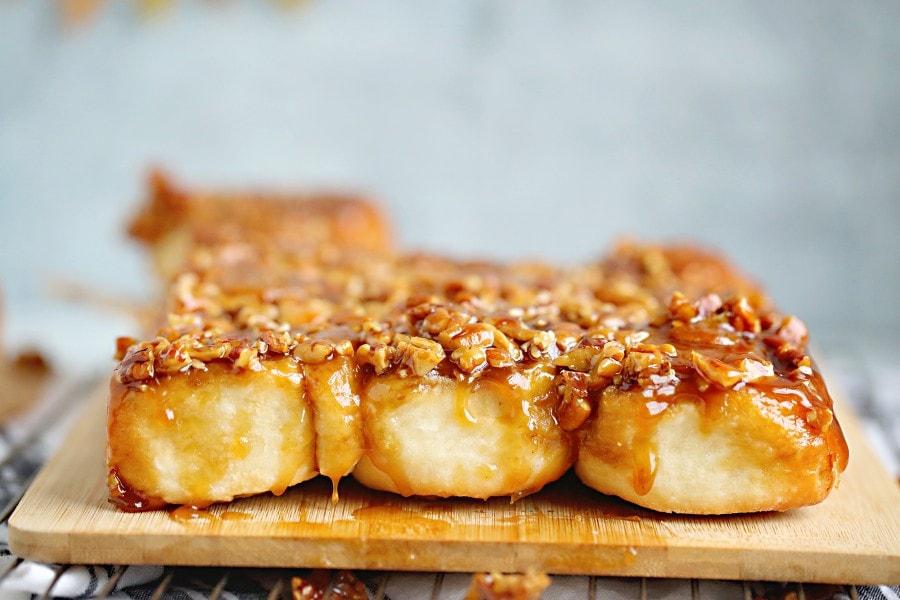 old fashioned caramel rolls